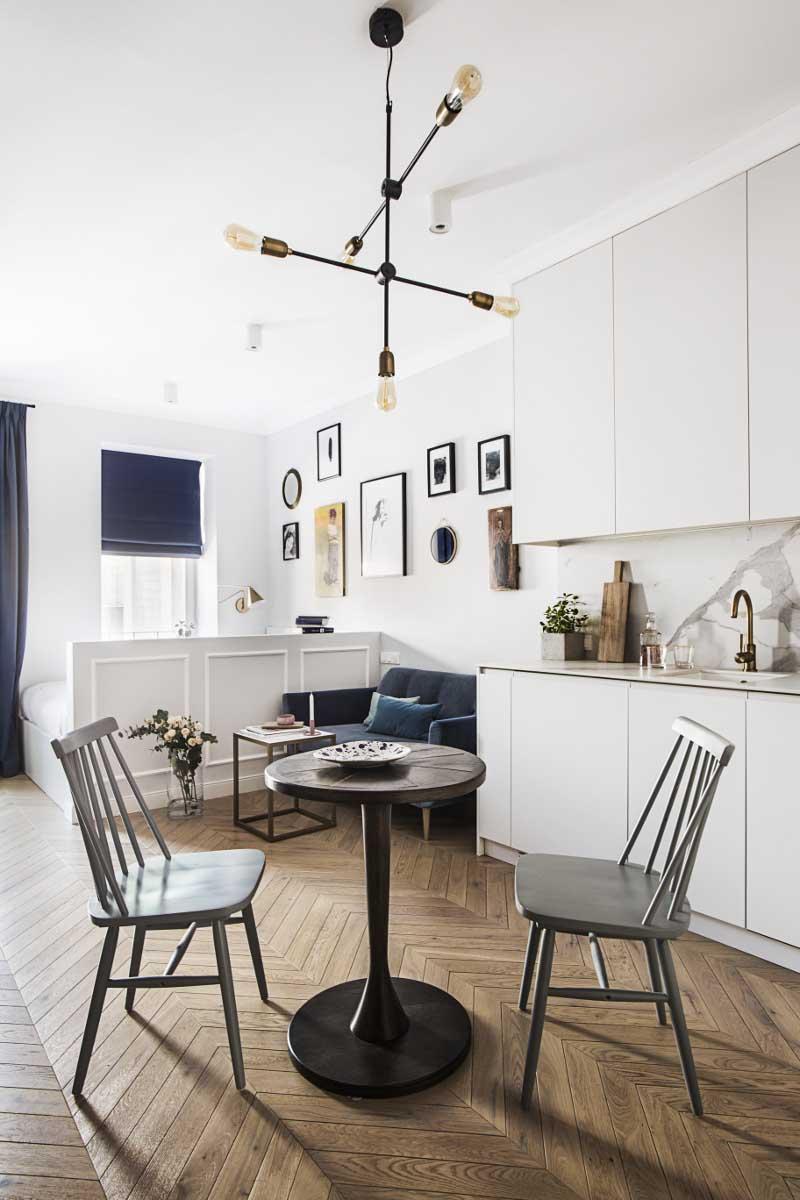 Projekt małego mieszkania | proj. OIKOI