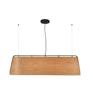 Lampa zwieszana Faro kolekcja STOOD Black and wood