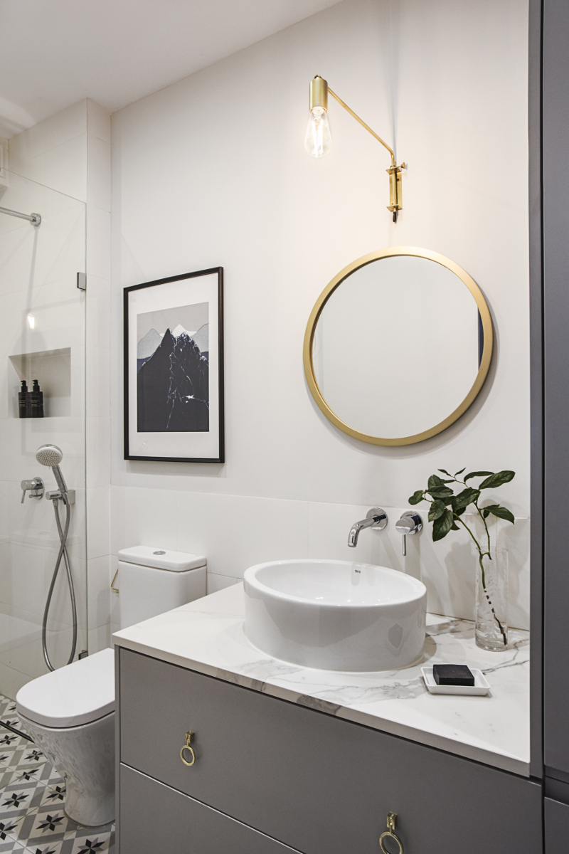Łazienka | proj. OIKOI