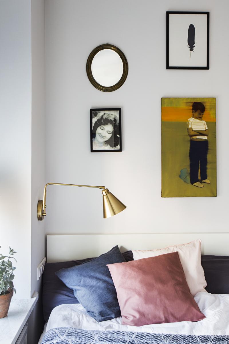 Kącik do spania w małym mieszkaniu | proj. OIKOI