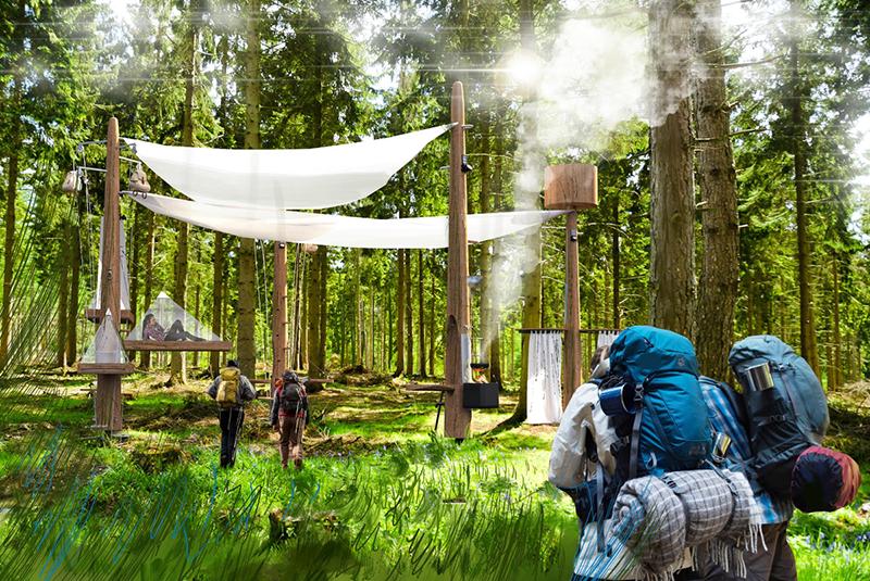 hotel w lesie