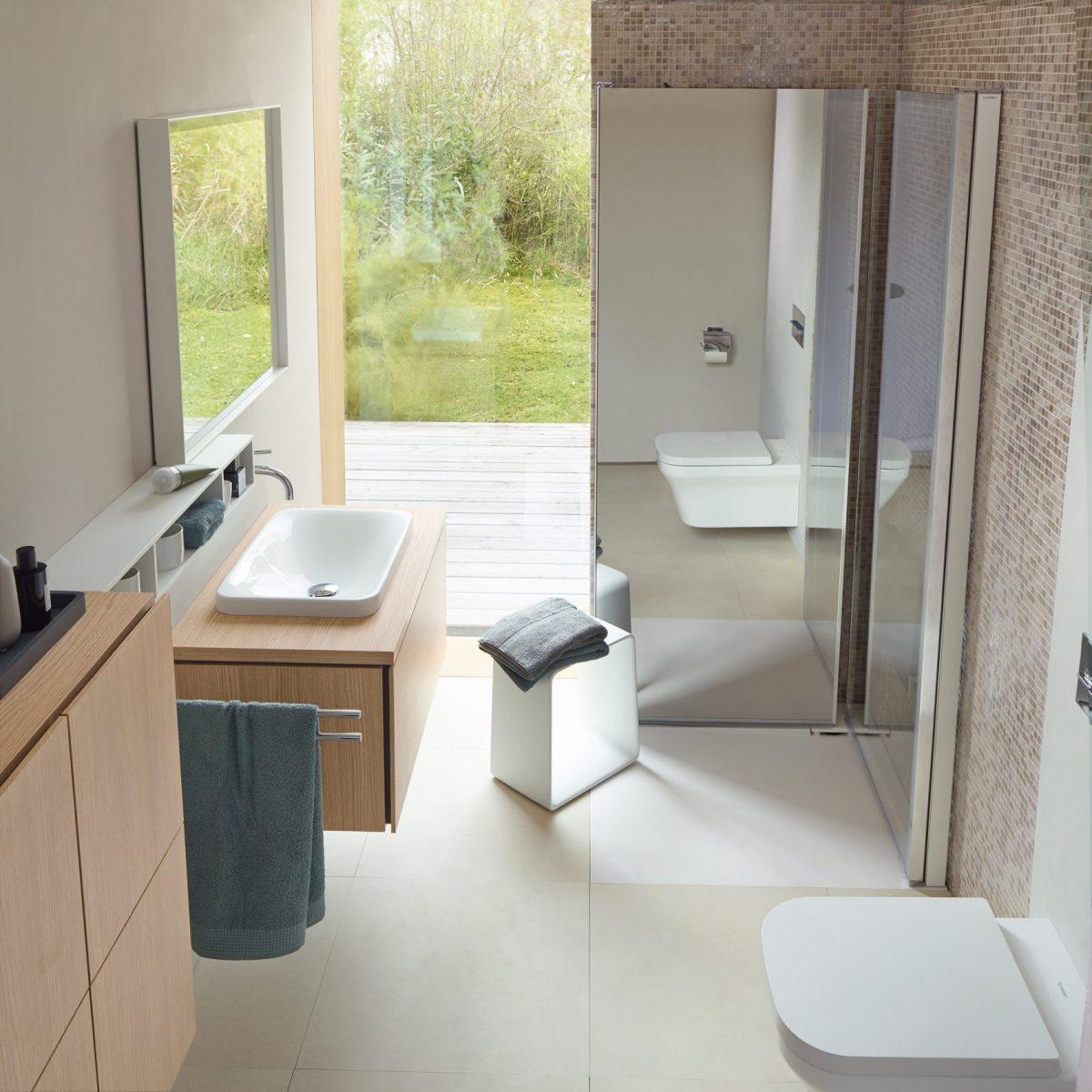 Innowacyjna kabina prysznicowa Open Space marki Duravit jest dostępna w naszych showroomach
