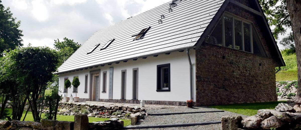 Dom w Górach Orlickich po metamorfozie