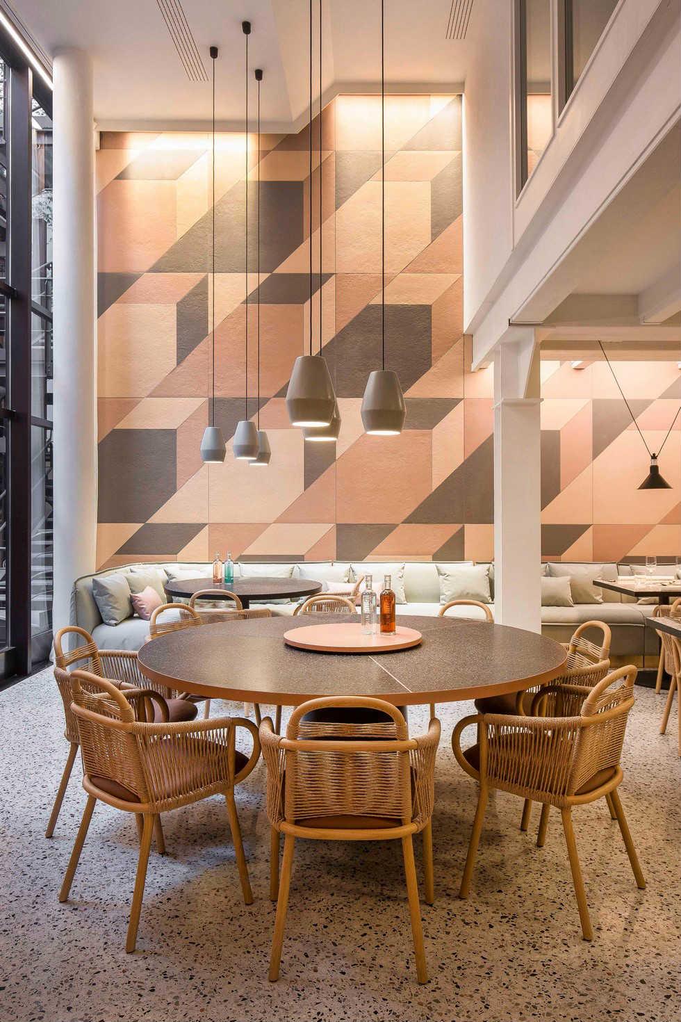 Restauracja Milan projekt Patricia Urquiola