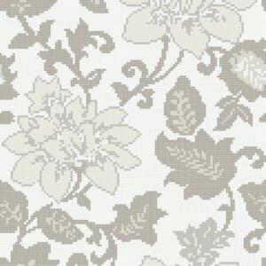 Płytki Bisazza kolekcja Mozaiki DECORI FLORA ADELAIDE GREY