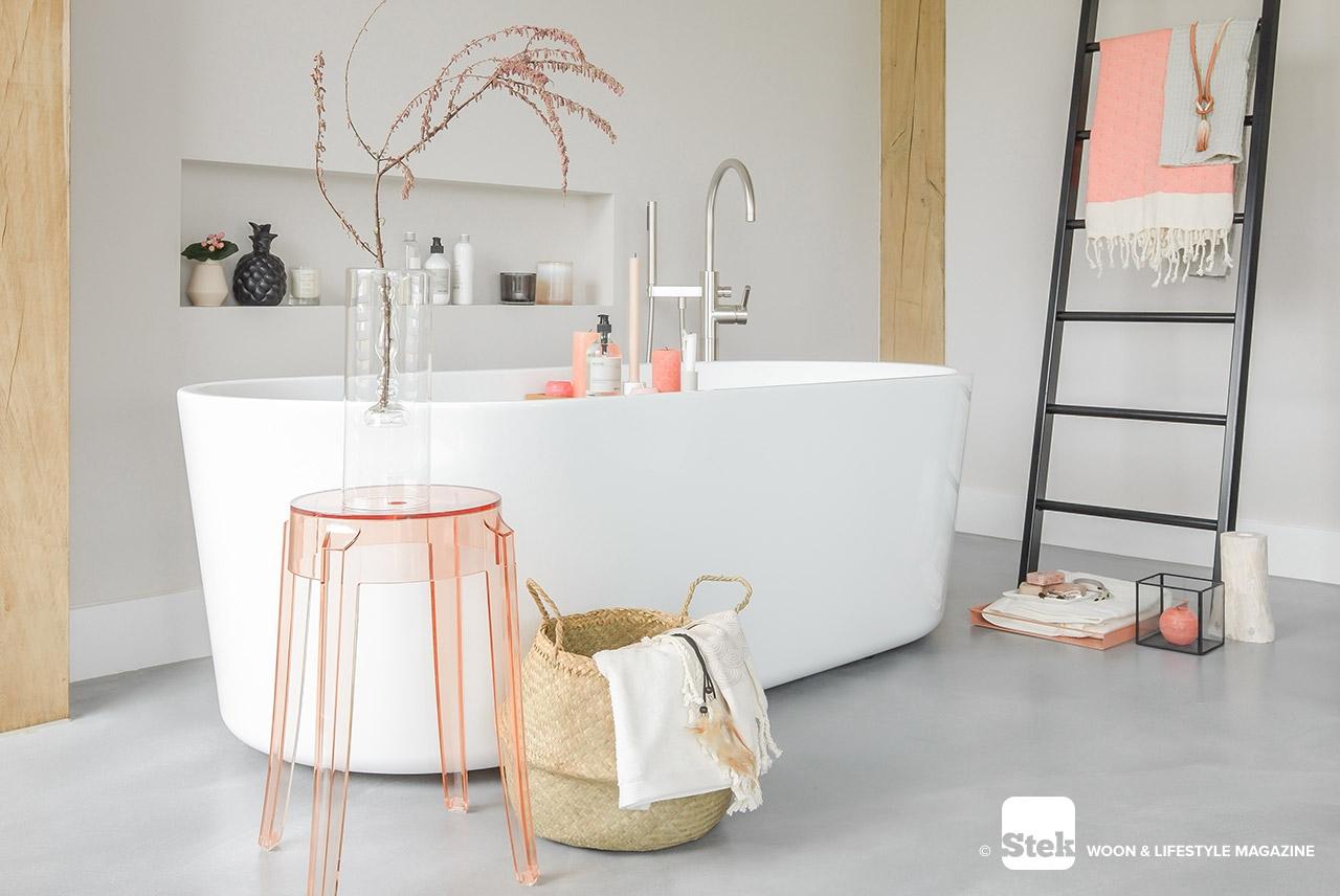 Przytulna łazienka | źródło Welke Badkamer Magazine