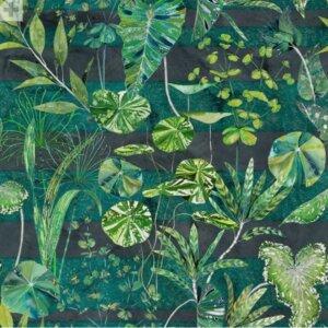 Tkanina Designers Guild kolekcja ARJUNA LEAF VIRIDIAN