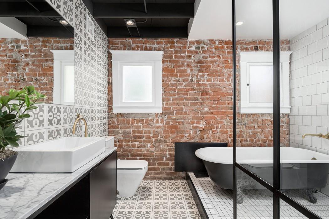 Łazienka w eklektycznym stylu