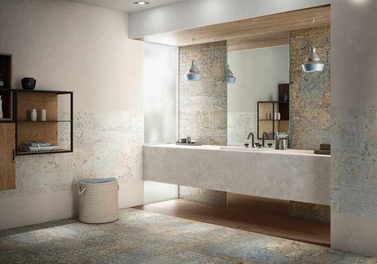 łazienka w hiszpańskim stylu