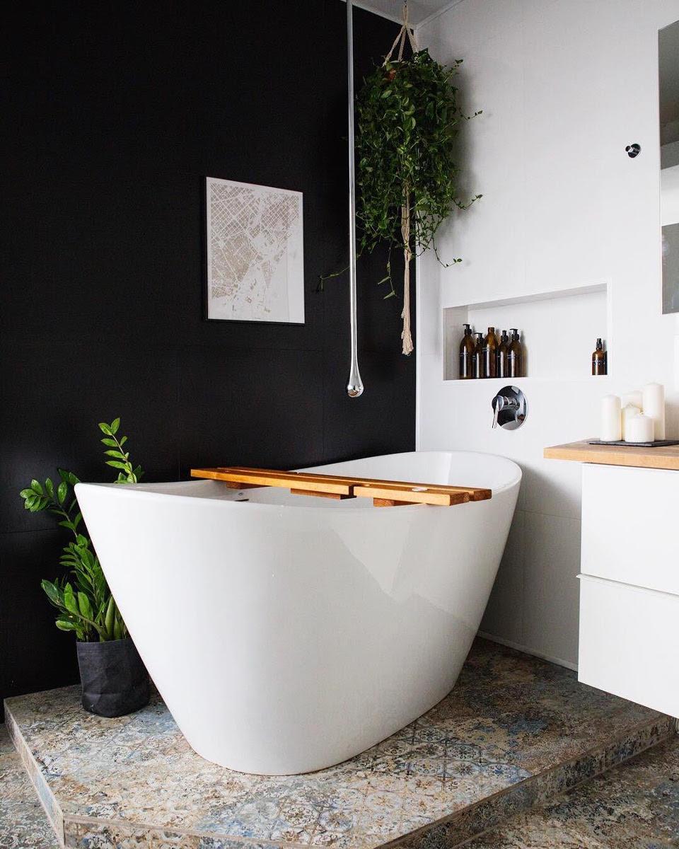 Łazienka w hiszpańskim stylu | proj. Studio Zapraszam