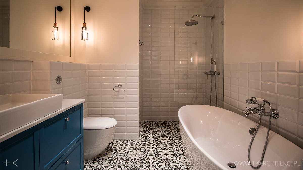 Południowa Namiętność I Pasja Czyli łazienka W Hiszpańskim