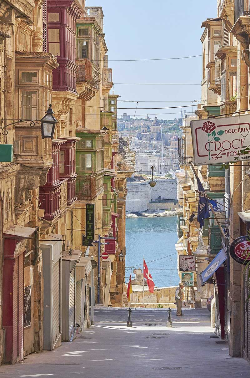 Uliczka na Malcie