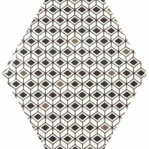 Płytki Equipe kolekcja Rhombus B&W