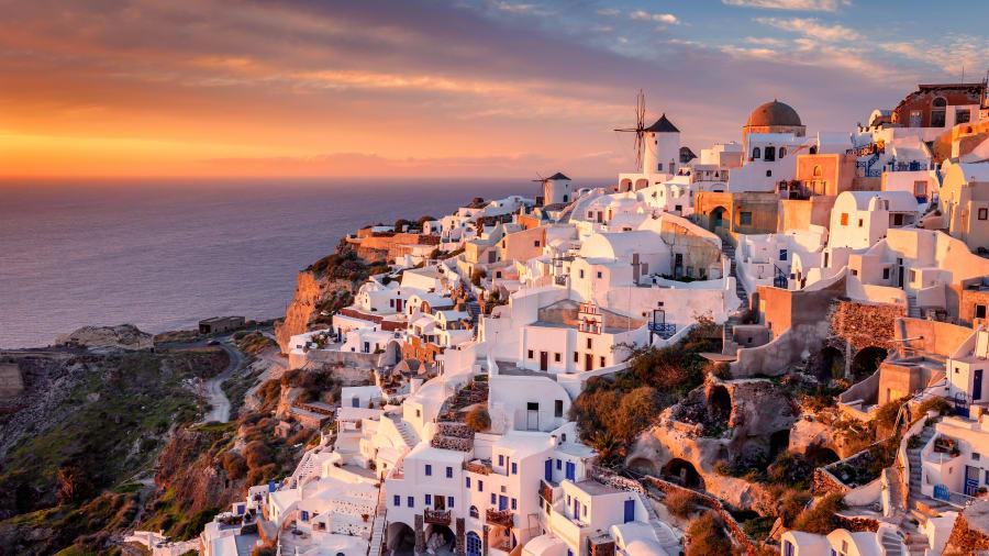 Najpiękniejsza wyspa Santorini