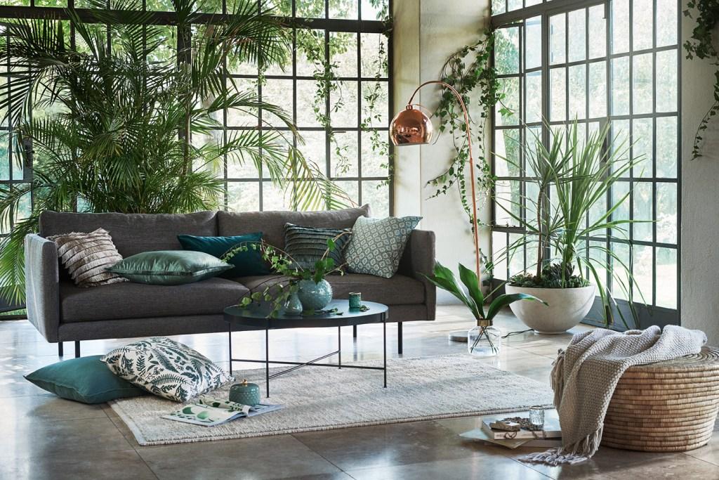 Tropikalny salon | Zdjęcie HM Home
