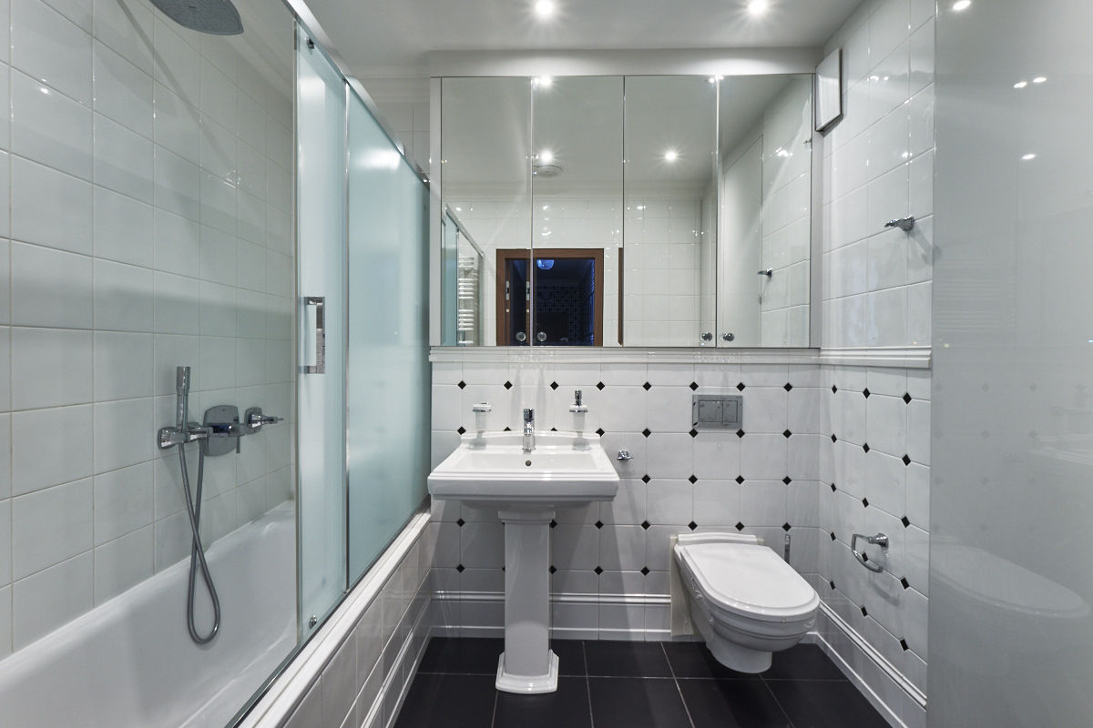 Łazienka w stylu nowojorskim | proj. Hanna Kłyk
