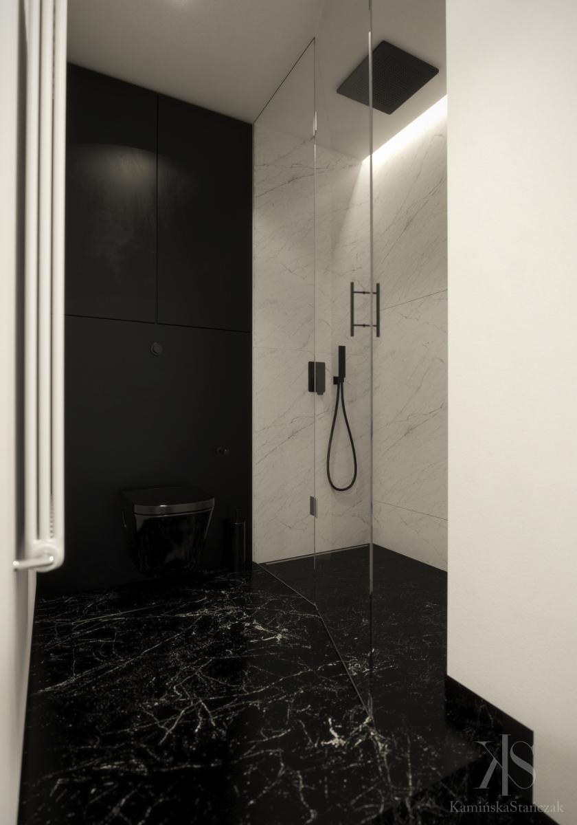 Łazienka | proj. KamińskaStańczak