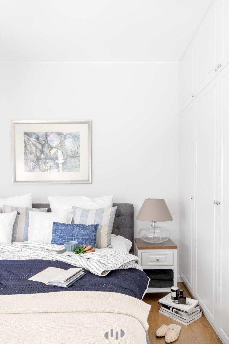 Sypialnia | proj. Dziurdzia Projekt