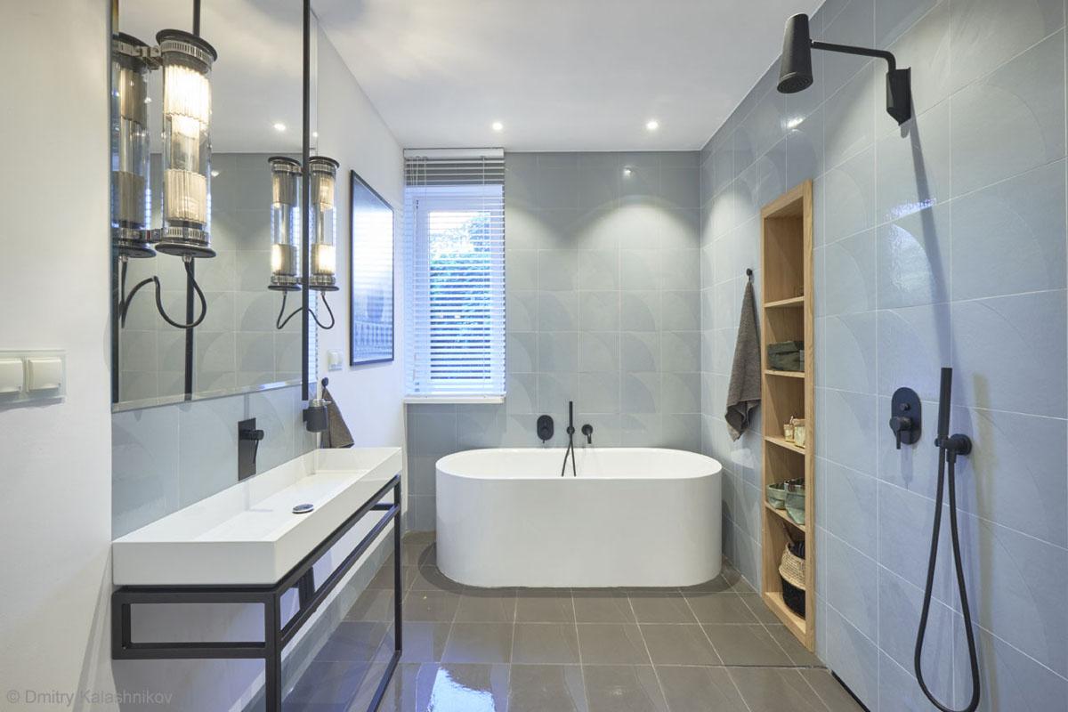 Łazienka w stylu nowoczesnym | proj. Hanna Kłyk
