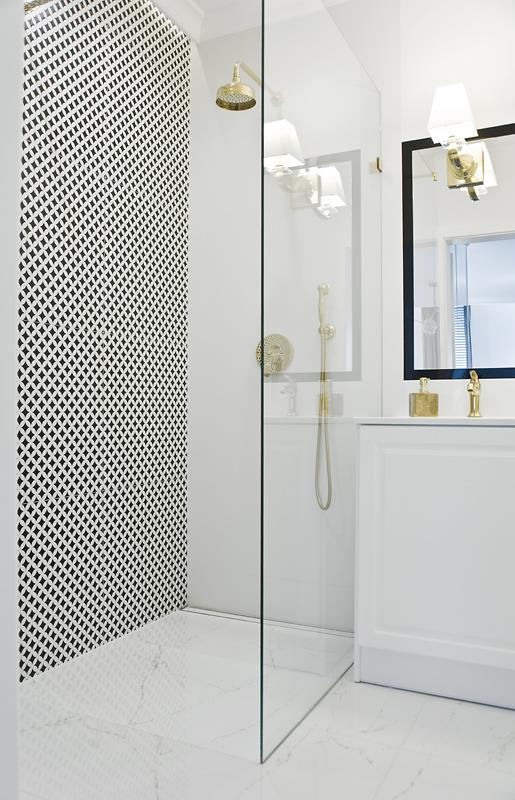Pani Magda (architekt) twierdzi, że to małe elementy tworzą całość... i ta łazienka jest tego wspaniałym dowodem