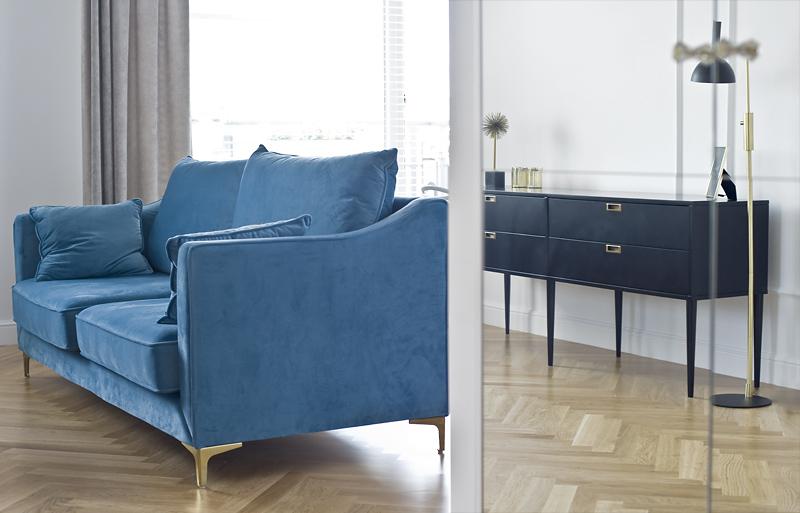 Te dwa meble znajdujące się w mieszkaniu zostały wykonane na specjalne zamówienie