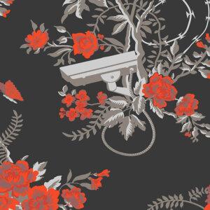 Flavor Paper for Arte tapeta Vigilant Floral (FP1051)