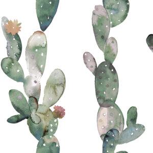 Płytki Aparici, Glimpse Cactus Ornato, kolekcja Glimpse
