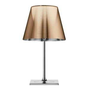 Flos lampa stojąca stołowa kolekcja KTRIBE T2 Chrom&Miedź