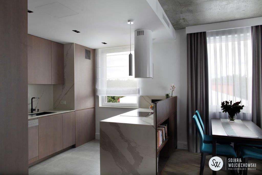 Projekt mieszkania na Marysinie Sojka&Wojciechowski