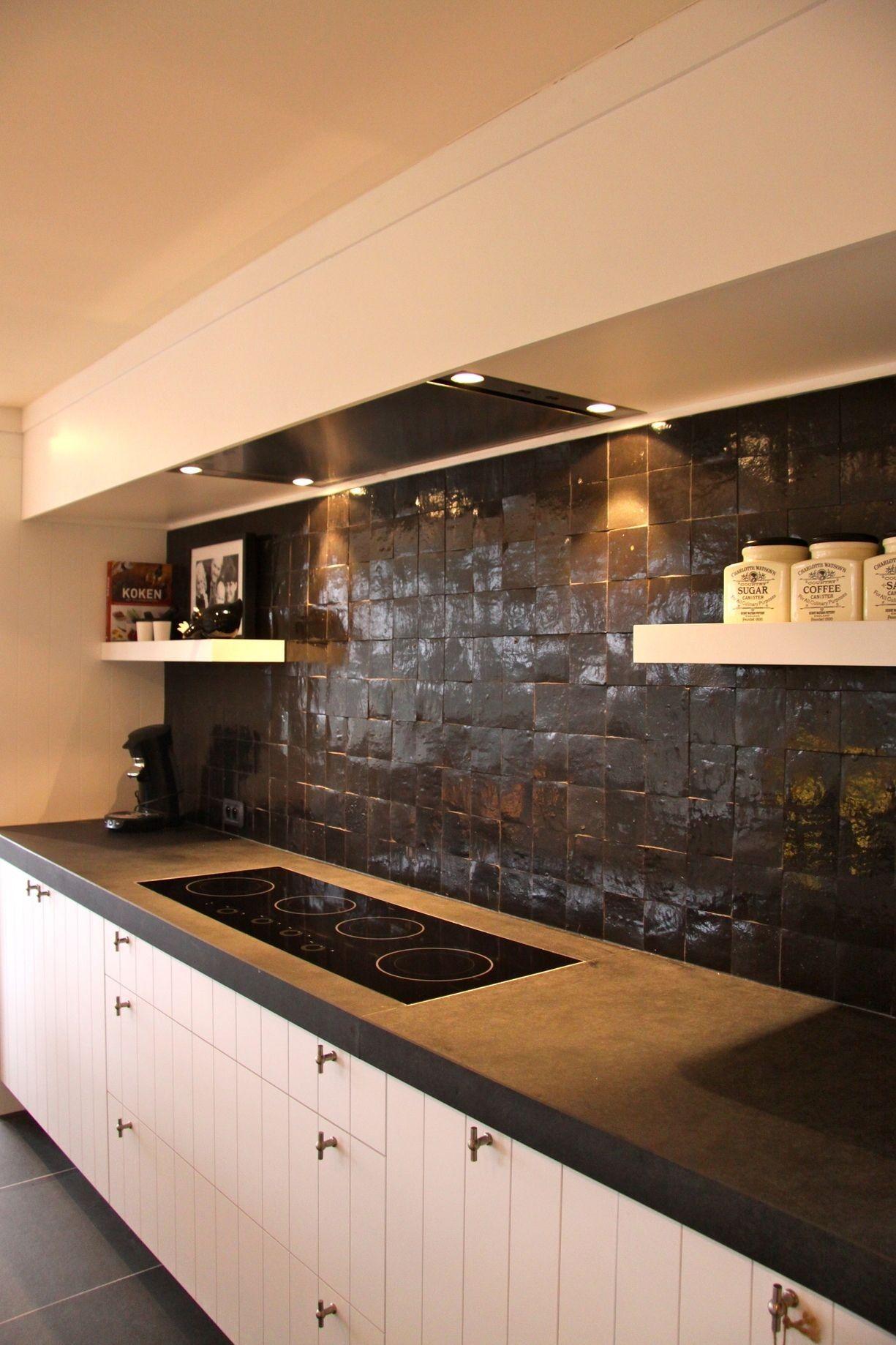 Płtki zellige w nowoczesnej kuchni
