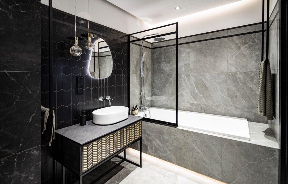 Łazienka w stylu nowoczesnym | proj. Formea Studio