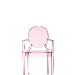 Kartell Lou Lou Ghost krzesło dziecięce