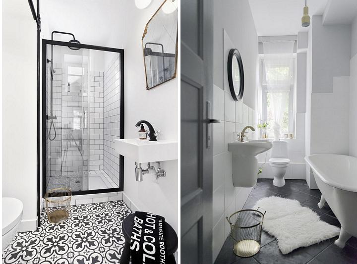 Łazienka w stylu skandynawskim | proj. Studio LOKO