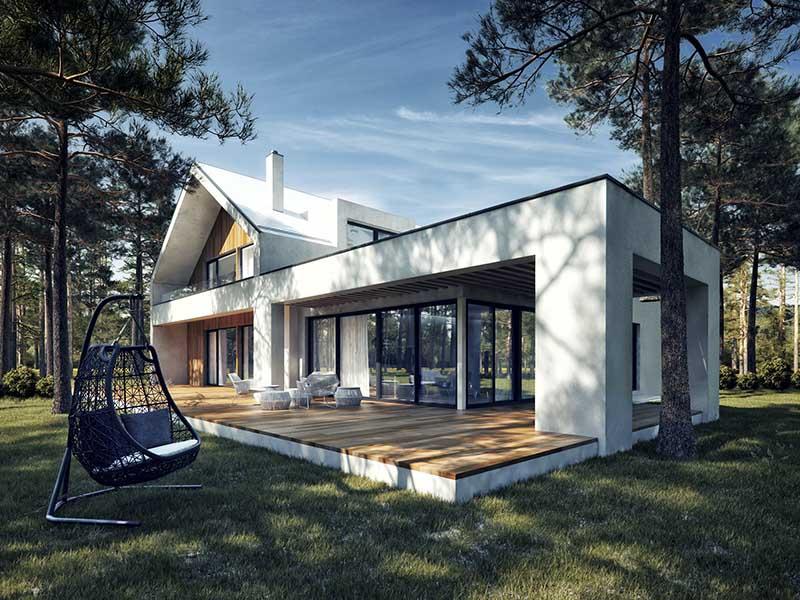 Projket domu Kaza Interior Design