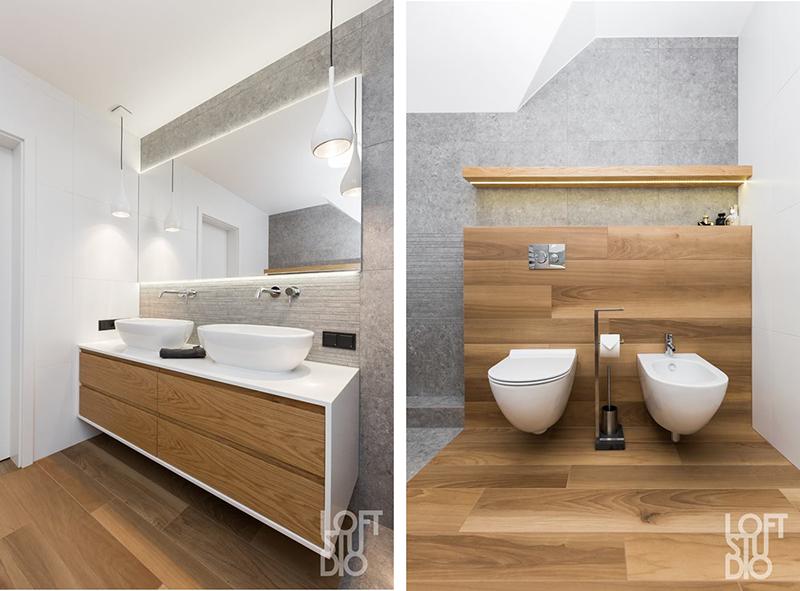 Projekt łazienki Loft Studio