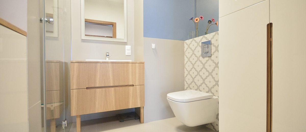 Łazienka | proj. Olivkadesign