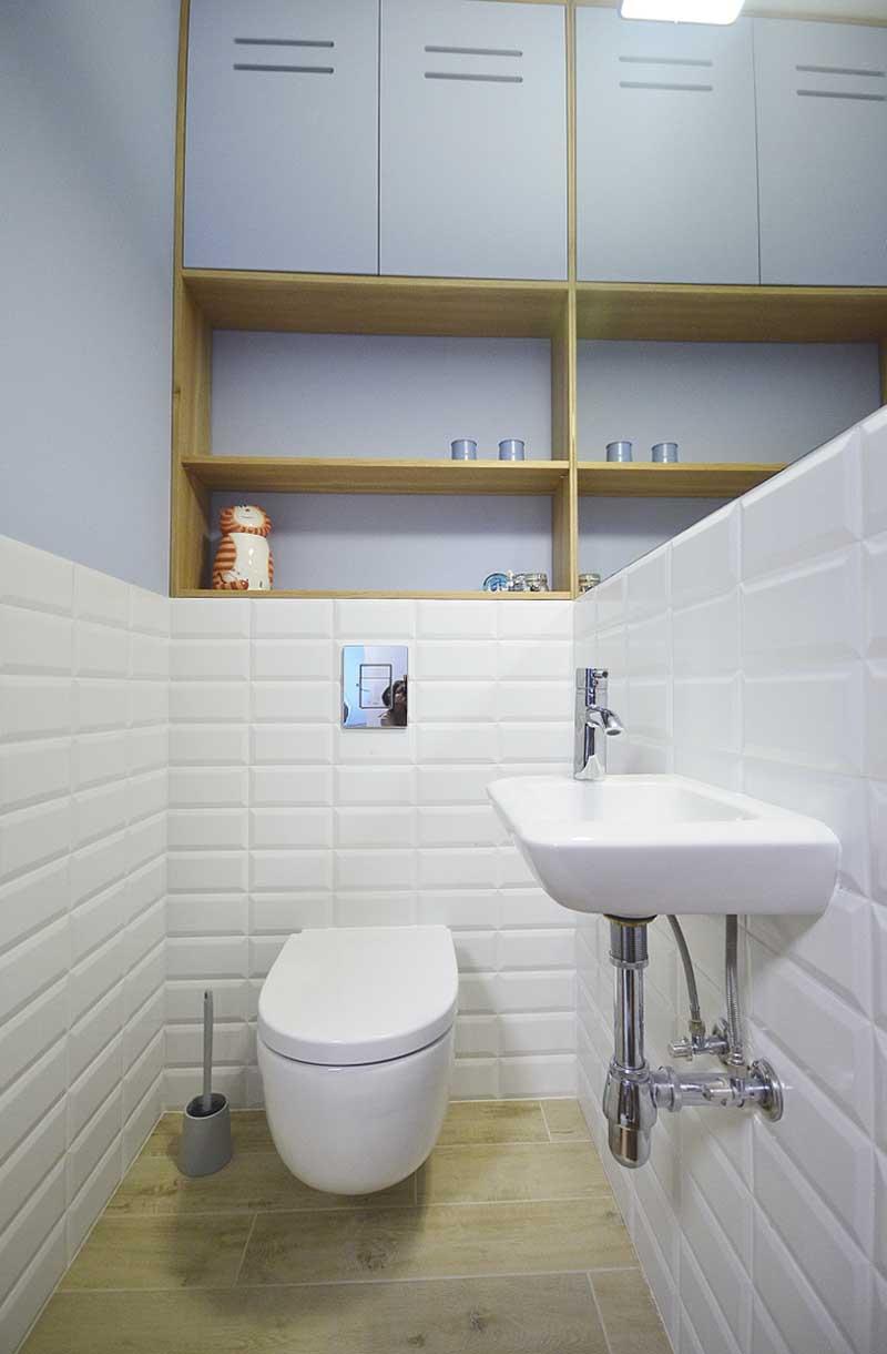 Strefa WC | proj. Olivkadesign