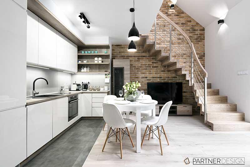 Partner Design - jadalnia z kuchnią