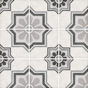 Płytki Equipe kolekcja Art Nouveau seria Capitol Grey