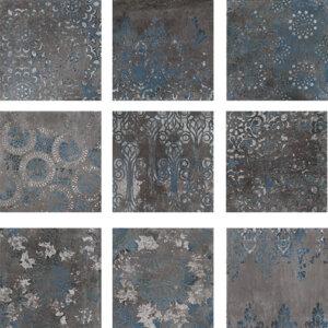 Płytki Wow Designe kolekcja Mestizaje seria Chateau Antique Graphite