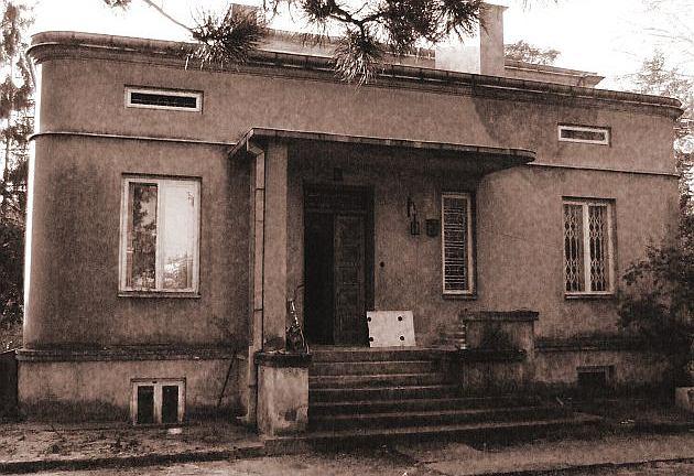 Dom w Podkowie Lesnej przed rozbudową