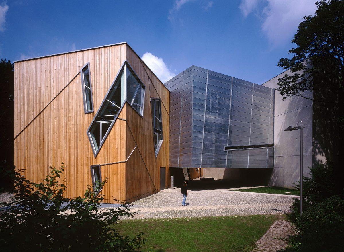 Muzeum Felixa Nussbauma (Osnabrück), proj. Daniel Libeskind, źródło: www.libeskind.com