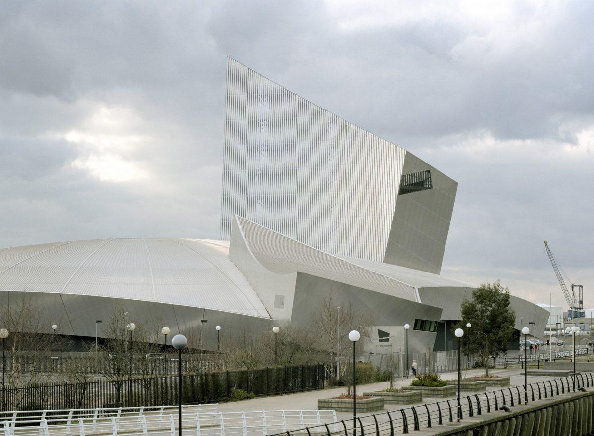 Imperial War Museum North (Wielka Brytania), proj. Daniel Libeskind, źródło: www.libeskind.com