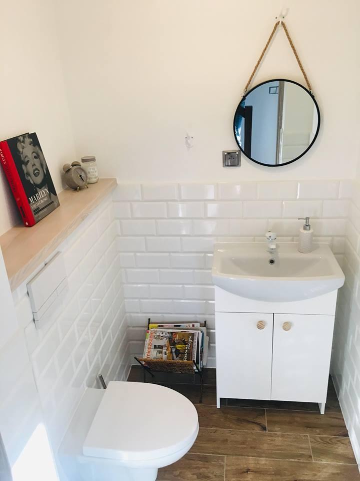 Toaleta w domu Pani Agaty