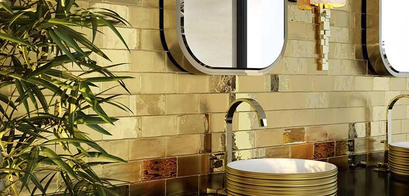 Płytki Dunin w eleganckiej nowoczsnej łazience