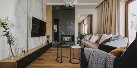 Mały salon | proj. Finchstudio