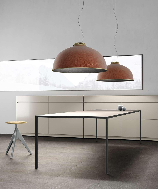 Akustyczna lampa Luceplan Farel