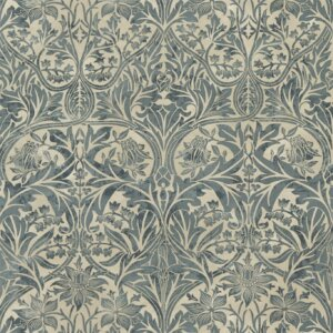Tkanina by Morris & Co. Bluebell