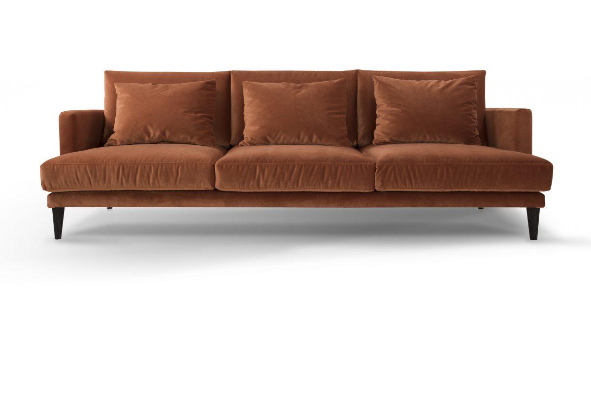 Sofa Paradise marki Inspirium (tkanina Glam Velvet 17)