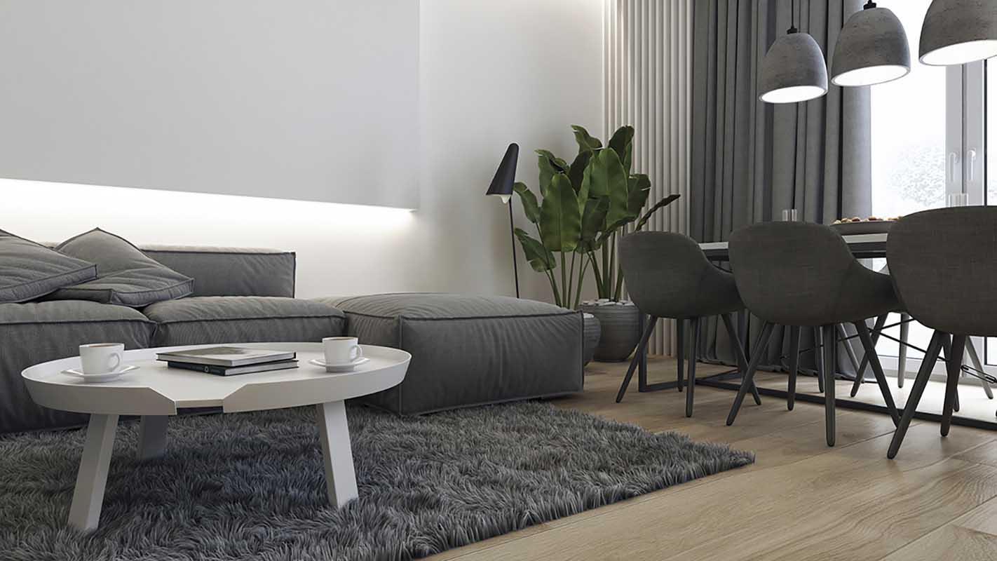 Narożnik modułowy Inspirium Cushion dostępny w Internity Home